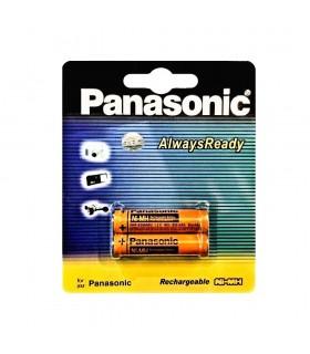 باتری نیم قلم قابل شارژ پاناسونیک 830 میلی امپر مدل HHR-3MRT/2BM