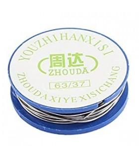سیم لحیم حلقه 0.8 میلی به طول 170 سانتی متر برند ZHOUDA