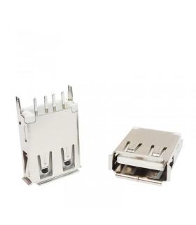 كانكتور USB-A مادگي ايستاده بلند