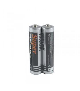 باتری نیم قلمی مکسل دو عددی Maxell Super Battery