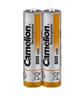 باتری600میلی نیم قلمی قابل شارژ Camelion مدل NH-AAA600BP2بسته 2 عددی