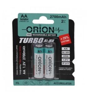 باتری قلمی شارژی ORION مدل HR6 1.2V 2700mAh