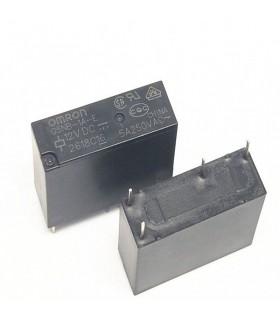 رله 12 ولت پکیجی 4 پایه 5 آمپر Omron G5NB-1A-E-12VDC
