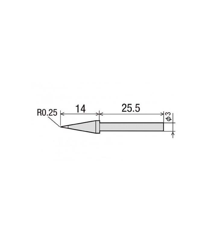 لوازم یدکی هیتر و هویه نوک هویه بسیار تیز GOOT/CS-20/30RT-SB