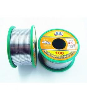 انواع سیم لحیم سیم لحیم 0.8 میلیمتر/50 گرمی/HENGMING