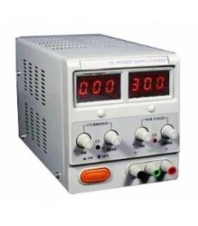 انواع منبع تغذیه منبع تغذیه دیجیتال آزمایشگاهی 30~0 ولت 2 آمپر