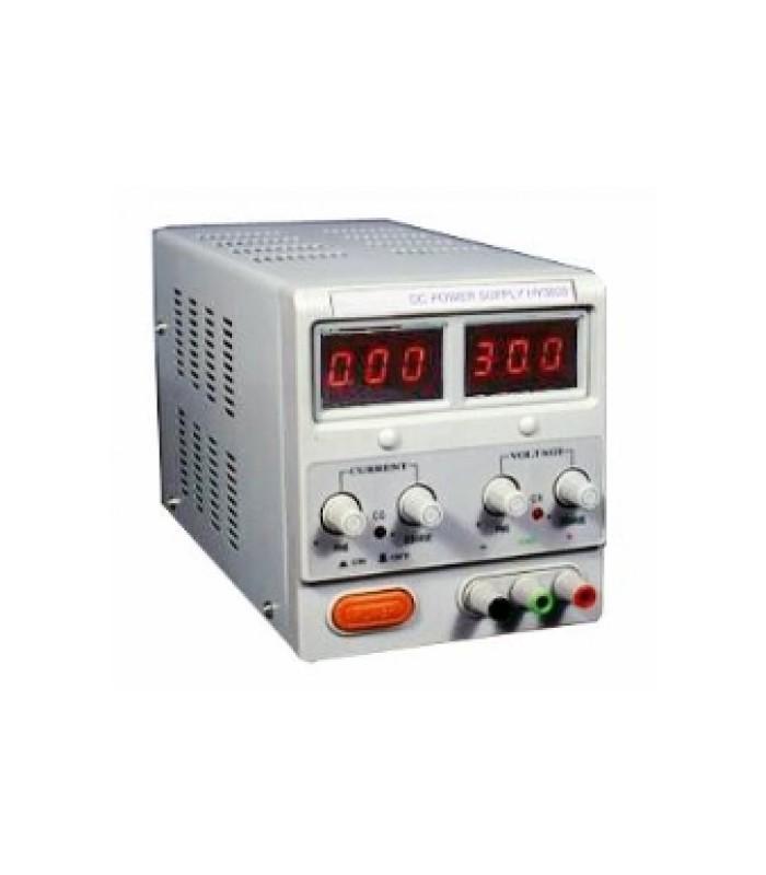 انواع منبع تغذیه منبع تغذیه دیجیتال آزمایشگاهی 30~0 ولت 3 آمپر