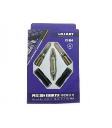 انواع پیچ گوشتی پیچ گوشتی طرح قلم YAXUN YX 364 Screwdriver